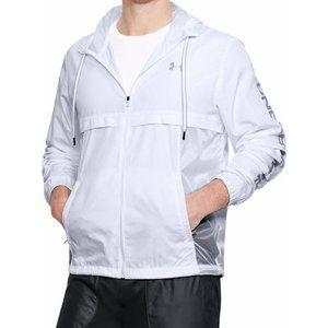 Under Armour UA Podium Windbreaker jacket White